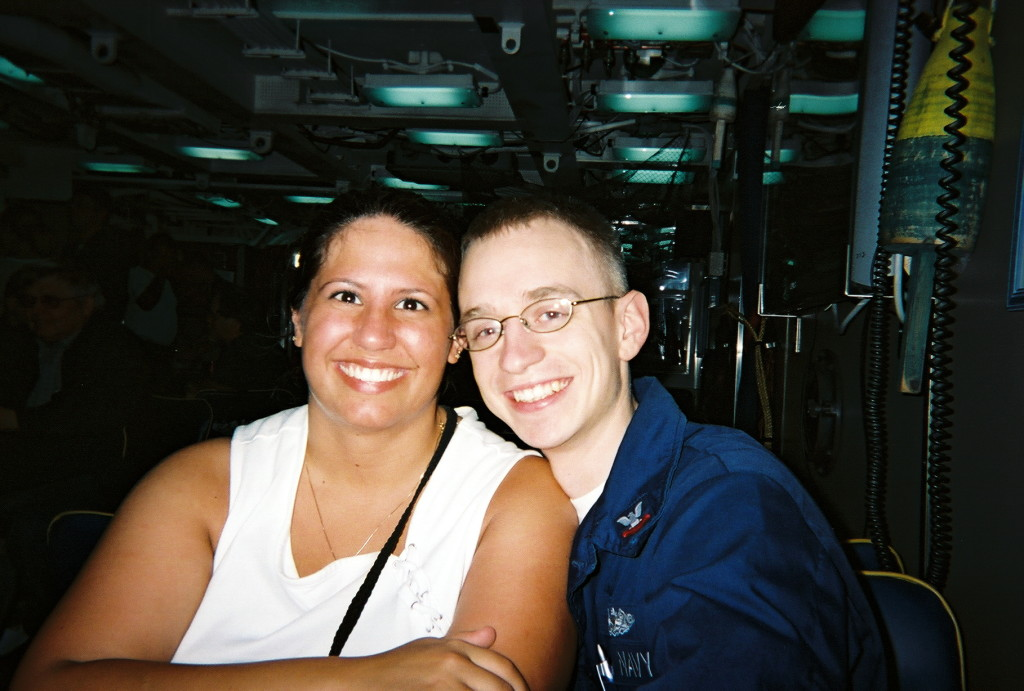 Mommy & Daddy on the submarine