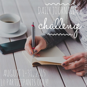 Daily Journaling Challenge